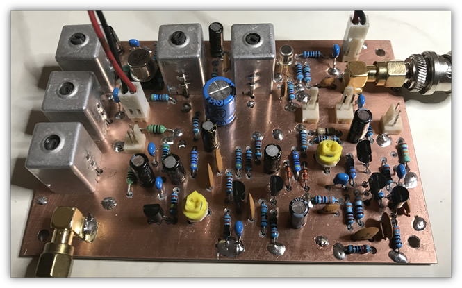 Exciter board including FM modulator