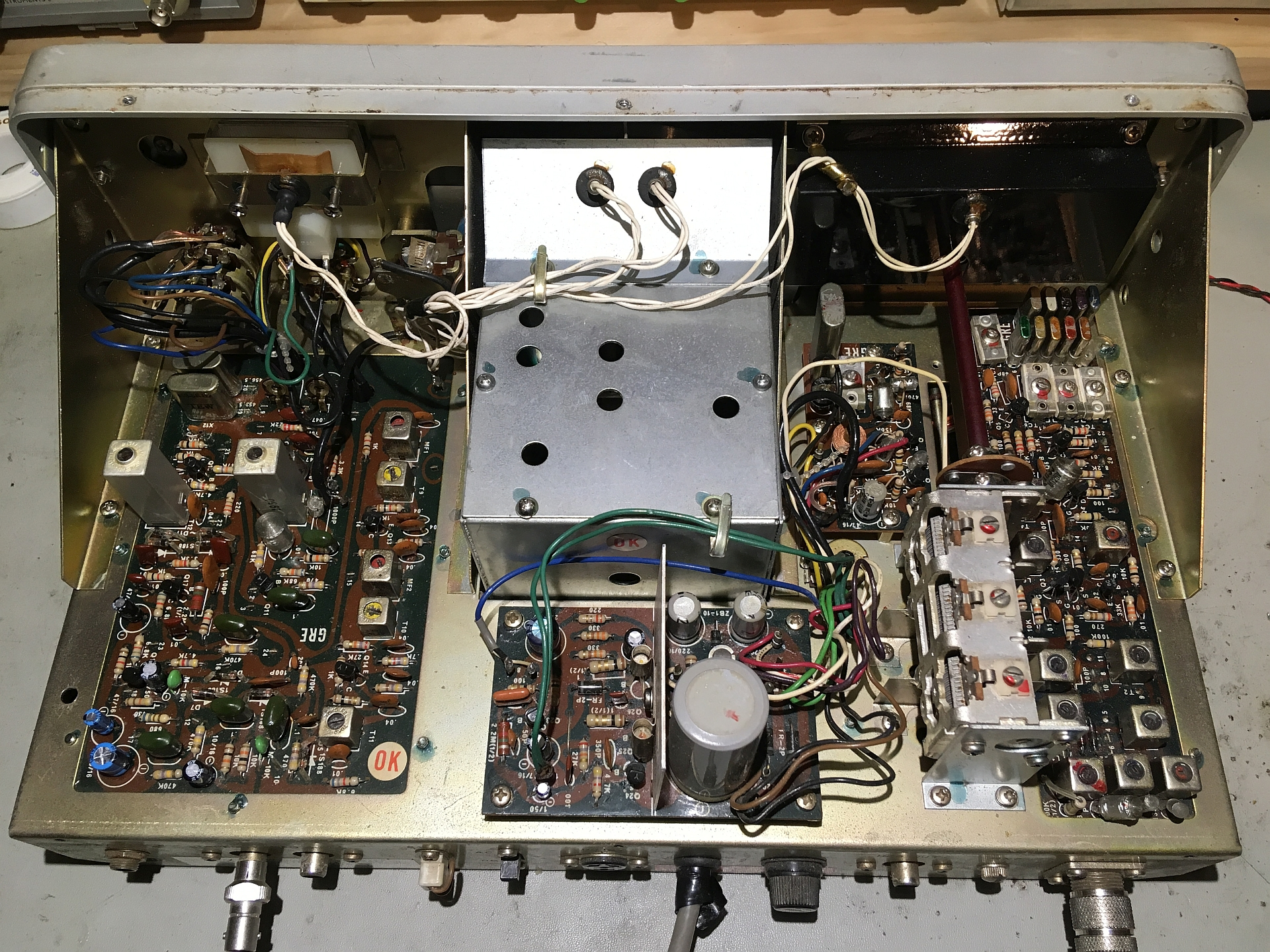 AX-190 Receiver Chassis Top