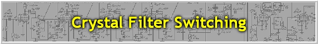 Crystal Filter Switching