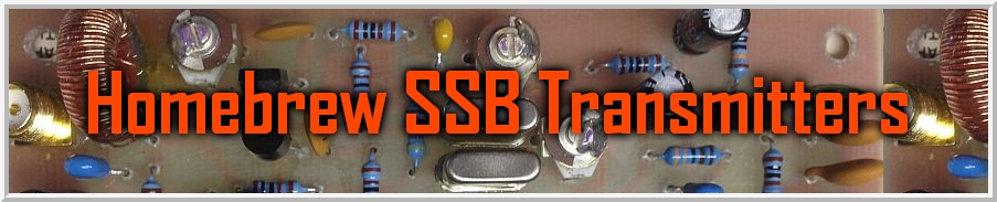 Homebrew SSB Transmitters